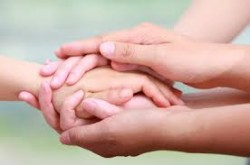 helping hands guide those in recovery